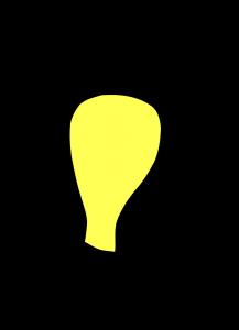 Светеща крушка.